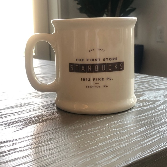 First Starbucks Coffee Store Mug
